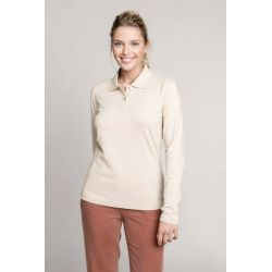 POLO MANCHES LONGUES FEMME avec broderies Cayman