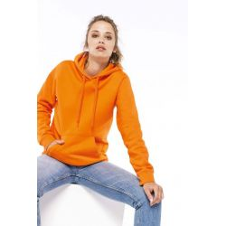Sweat-shirt capuche femme avec broderies Cayman