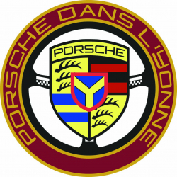 Sticker Autocollant du groupe Porsche dans l'Yonne