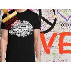 Tee-shirt imprimé Anti-social