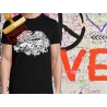 Tee-shirt imprimé combi et cox vw