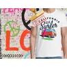Tee-shirt imprimé Combi California Surfer