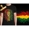 Tee-shirt Lion rasta