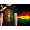 Tee-shirt Lion rasta