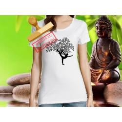 Tee-shirt Femme imprimé yog