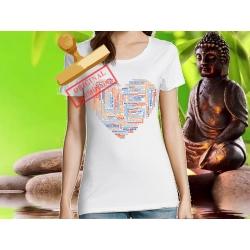 Tee-shirt Femme imprimé Yoga3