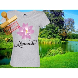 Tee-shirt Femme imprimé Lotus Namaste