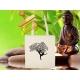 Tote bag Organic Zen arbre yoga