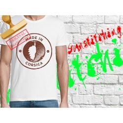 Tee-shirt Made in Corsica